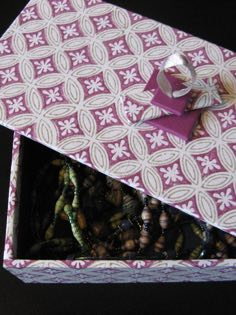 Image of hand made boxes linked to Boxes page