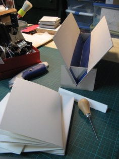 Image of Heart Bound Books binder linked to my studio page