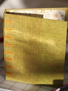 Image of Stab Bound book bindery linked to Other Type Book Bindery page