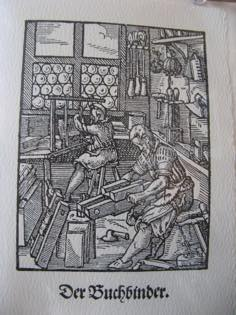 Image of traditional bindery linked to Taditional Bindery page